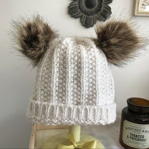1bd25535f5b Accessories - Winter Beanie with Fuzzy Ears